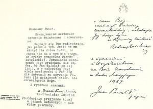 list do radiestety Klimkiewicza